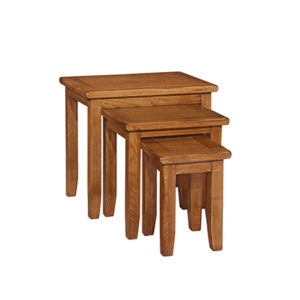 Lincoln Rustic Nest Of Tables