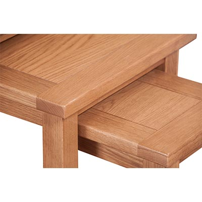Lincoln Natural Nest Of 3 Tables