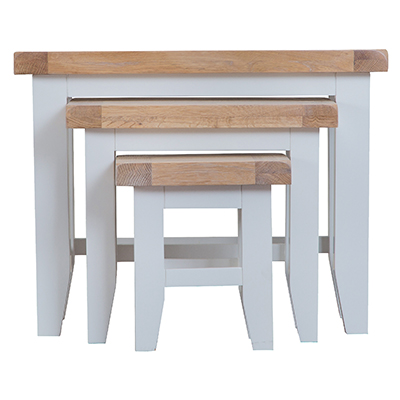 Suffolk Grey Nest of 3 Tables