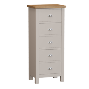 Halifax 5 Drawer Narrow Chest