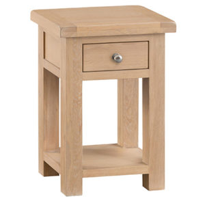 Windsor Limed Side Table