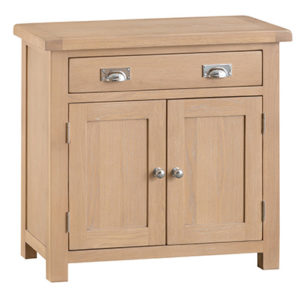 Windsor Limed Small 2 Door 1 Drawer Sideboard