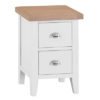 Suffolk White Small Bedside Cabinet