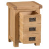 Small Bedside Cabinet-storage-chest-drawers-bronze handles-oak-Bedroom-wooden-wood-furniture-Steptoes-paphos-cyprus (2)