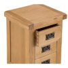 Small Bedside Cabinet-storage-chest-drawers-bronze handles-oak-Bedroom-wooden-wood-furniture-Steptoes-paphos-cyprus (3)