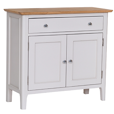 Bergen Beige Small 1 Drawer 2 Door Sideboard