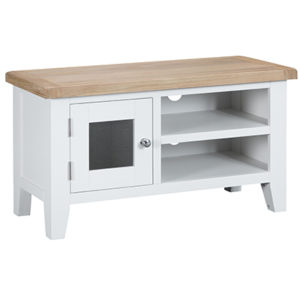 Suffolk White Standard TV Unit