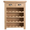 Windsor Limed Small Wine Rack
