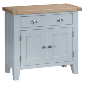 Suffolk Grey Small 1 Drawer 2 Door Sideboard