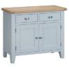 Standard sideboard-storage-cupboard-drawer-doors-grey-painted-lime washed oak top-wood-wooden-Dining-furniture-Steptoes-Paphos-Cyprus