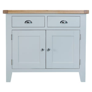 Suffolk Grey 2 Drawer 2 Door Sideboard