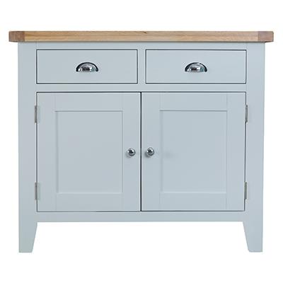 Suffolk Grey 2 Drawer 2 Door Sideboard