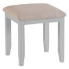 Stool-dressing-fabric-seat-seating-grey-painted-lime washed top-wood-wooden-bedroom-furniture-Steptoes-Paphos-Cyprus