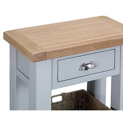 Suffolk Grey Telephone Table