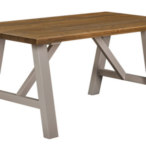 Norfolk Grey Trestle Dining Table