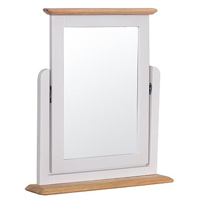 Bergen Beige Trinket Mirror