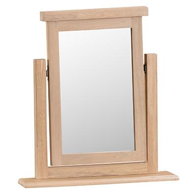 Windsor Limed Trinket Mirror