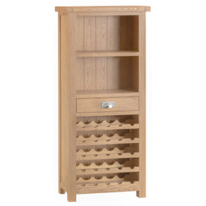 Windsor Limed Large Wine Cabinet