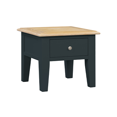 Banbury Lamp End Table - Wood - Oak - Pine - Mango Wood - Painted - Natural Wood - Solid Wood - Lounge - Bedroom - Dining - Occasional - Furniture - Home - Living - Comfort - Interior Design - Modern
