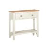 Eva Cream Console Table- Wood - Oak - Pine - Mango Wood - Painted - Natural Wood - Solid Wood - Lounge - Bedroom - Dining - Occasional - Furniture - Home - Living - Comfort - Interior Design - Modern