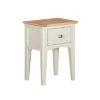 Eva Cream Side Table- Wood - Oak - Pine - Mango Wood - Painted - Natural Wood - Solid Wood - Lounge - Bedroom - Dining - Occasional - Furniture - Home - Living - Comfort - Interior Design - Modern
