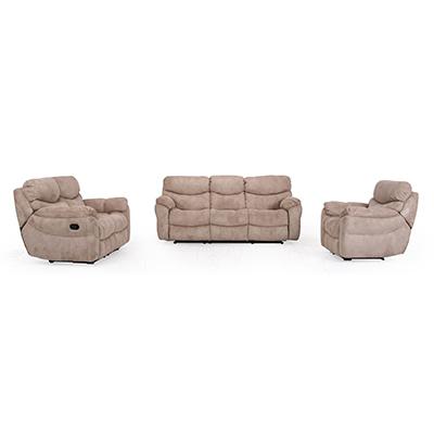 Terrific Dublin Cashmere 2 Seater Reclining Microfiber Sofa Pdpeps Interior Chair Design Pdpepsorg