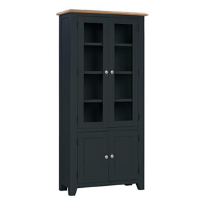 Banbury Display Cabinet - Wood - Oak - Pine - Mango Wood - Painted - Natural Wood - Solid Wood - Lounge - Bedroom - Dining - Occasional - Furniture - Home - Living - Comfort - Interior Design - Modern