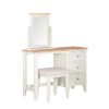 Eva Cream Stool- Wood - Oak - Pine - Mango Wood - Painted - Natural Wood - Solid Wood - Lounge - Bedroom - Dining - Occasional - Furniture - Home - Living - Comfort - Interior Design - Modern