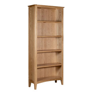 Eva Natural Large Bookcase- Wood - Oak - Pine - Mango Wood - Painted - Natural Wood - Solid Wood - Lounge - Bedroom - Dining - Occasional - Furniture - Home - Living - Comfort - Interior Design - Modern