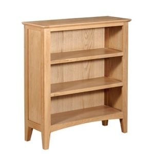 Eva Natural Small Bookcase- Wood - Oak - Pine - Mango Wood - Painted - Natural Wood - Solid Wood - Lounge - Bedroom - Dining - Occasional - Furniture - Home - Living - Comfort - Interior Design - Modern
