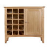Eva Natural Wine Cabinet- Wood - Oak - Pine - Mango Wood - Painted - Natural Wood - Solid Wood - Lounge - Bedroom - Dining - Occasional - Furniture - Home - Living - Comfort - Interior Design - Modern