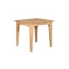 Eva Natural Fixed Dining Table- Wood - Oak - Pine - Mango Wood - Painted - Natural Wood - Solid Wood - Lounge - Bedroom - Dining - Occasional - Furniture - Home - Living - Comfort - Interior Design - Modern