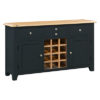 Banbury Large Wine Rack - Wood - Oak - Pine - Mango Wood - Painted - Natural Wood - Solid Wood - Lounge - Bedroom - Dining - Occasional - Furniture - Home - Living - Comfort - Interior Design - Modern