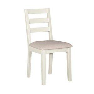Eva Cream Ladder Back Dining Chair