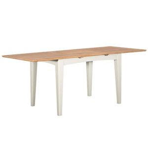 Eva Cream 1.6M Extending Dining Table- Wood - Oak - Pine - Mango Wood - Painted - Natural Wood - Solid Wood - Lounge - Bedroom - Dining - Occasional - Furniture - Home - Living - Comfort - Interior Design - Modern