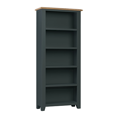 Banbury Large Bookcase - Wood - Oak - Pine - Mango Wood - Painted - Natural Wood - Solid Wood - Lounge - Bedroom - Dining - Occasional - Furniture - Home - Living - Comfort - Interior Design - Modern