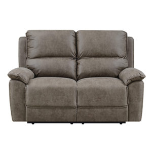 Santiago 2 Seater Reclining Microfiber Sofa
