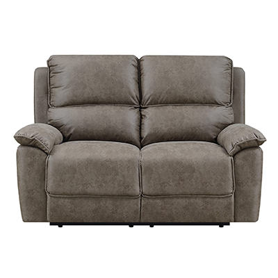 2 Seater Reclining Microfiber Sofa Set