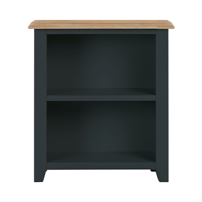 Banbury Low Bookcase - Wood - Oak - Pine - Mango Wood - Painted - Natural Wood - Solid Wood - Lounge - Bedroom - Dining - Occasional - Furniture - Home - Living - Comfort - Interior Design - Modern