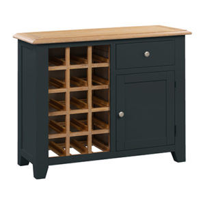 Banbury Small Wine Rack - Wood - Oak - Pine - Mango Wood - Painted - Natural Wood - Solid Wood - Lounge - Bedroom - Dining - Occasional - Furniture - Home - Living - Comfort - Interior Design - Modern