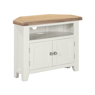 Hartford Corner TV Unit - Wood - Oak - Pine - Mango Wood - Painted - Natural Wood - Solid Wood - Lounge - Bedroom - Dining - Occasional - Furniture - Home - Living - Comfort - Interior Design - Modern