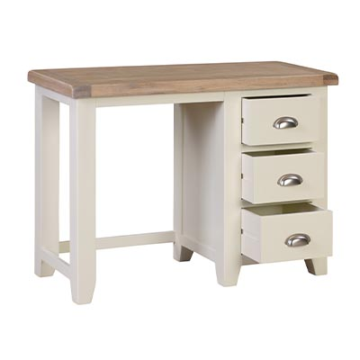 Hartford 3 Drawer Dressing Table- Wood - Oak - Pine - Mango Wood - Painted - Natural Wood - Solid Wood - Lounge - Bedroom - Dining - Occasional - Furniture - Home - Living - Comfort - Interior Design - Modern