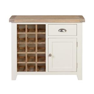 Hartford Small Wine Rack- Wood - Oak - Pine - Mango Wood - Painted - Natural Wood - Solid Wood - Lounge - Bedroom - Dining - Occasional - Furniture - Home - Living - Comfort - Interior Design - Modern