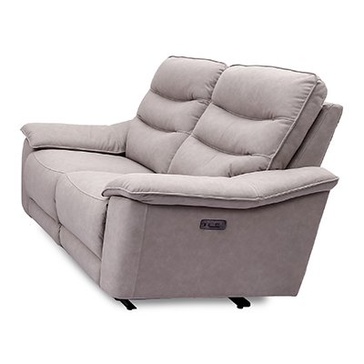 Ballina Electric 3 Seater Reclining Sofa - Sofa - Sofa Set - Recliners - Electric Recliners - 3 Seater - 2 Seater - Armchair - Fabric - Microfiber - Lounge - Comfort - Living - Steptoes - Furniture - Paphos - Cyprus