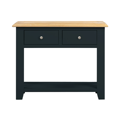 Banbury 2 Drawer Console Table - Wood - Oak - Pine - Mango Wood - Painted - Natural Wood - Solid Wood - Lounge - Bedroom - Dining - Occasional - Furniture - Home - Living - Comfort - Interior Design - Modern
