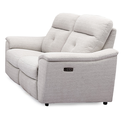 Cashel Electric 2 Seater Reclining Sofa