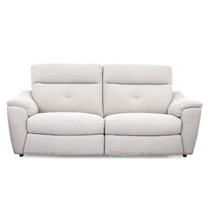 Cashel Electric 3 Seater Reclining Sofa - Sofa - Sofa Set - Recliners - Electric Recliners - 3 Seater - 2 Seater - Armchair - Fabric - Microfiber - Lounge - Comfort - Living - Steptoes - Furniture - Paphos - Cyprus