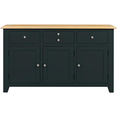 Banbury 3 Door 3 Drawer Sideboard - Wood - Oak - Pine - Mango Wood - Painted - Natural Wood - Solid Wood - Lounge - Bedroom - Dining - Occasional - Furniture - Home - Living - Comfort - Interior Design - Modern
