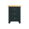 Banbury 3 Drawer Bedside Cabinet -Wood - Oak - Pine - Mango Wood - Painted - Natural Wood - Solid Wood - Lounge - Bedroom - Dining - Occasional - Furniture - Home - Living - Comfort - Interior Design - Modern