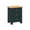 Banbury 3 Drawer Bedside Cabinet - Wood - Oak - Pine - Mango Wood - Painted - Natural Wood - Solid Wood - Lounge - Bedroom - Dining - Occasional - Furniture - Home - Living - Comfort - Interior Design - Modern